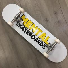 "Скейтборд Mental Skateboards White 8.125"""